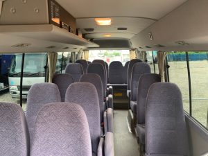 マイクロバス 28人乗り 2両